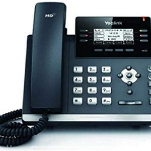 Yealink Ultra-elegant IP Phone – SIP-T41S (w/o PS)