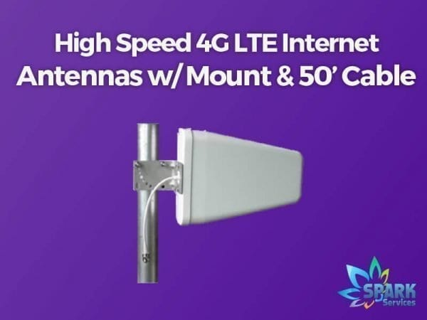 SPARK Services High Speed 4G LTE Internet Antenna