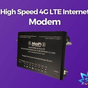 SPARK Services High Speed 4G LTE Internet Modem Mofi