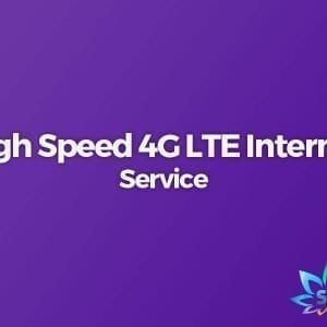 High Speed 4G LTE Internet Service