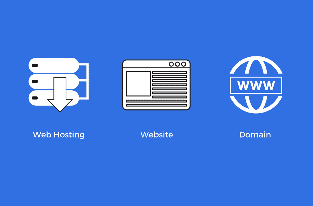 The Difference Between Web Hosting, A Website And A Domain Name