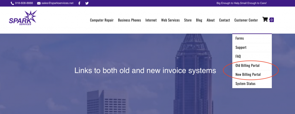 SPARK Services Invoice System